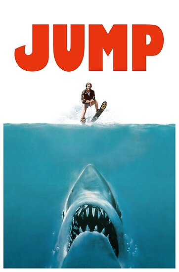 Jump the Shark (One sheet version) by whythelpface