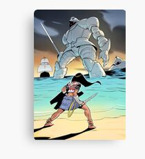 Princess vs Ares Canvas Print