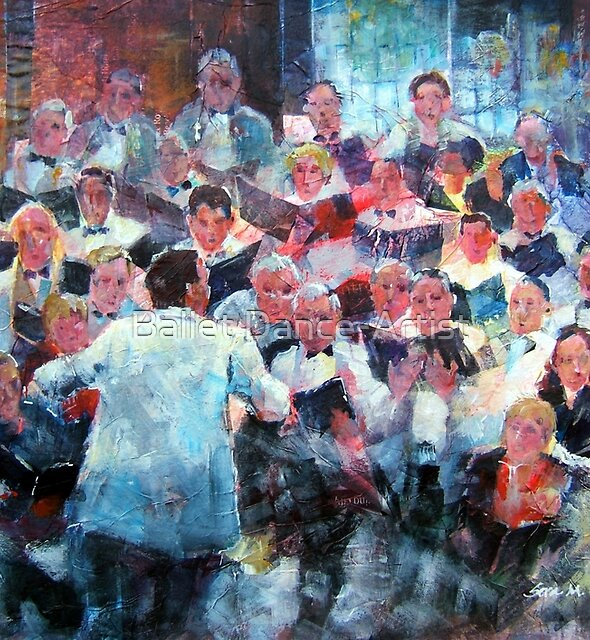 Choir In Concert by Ballet Dance-Artist