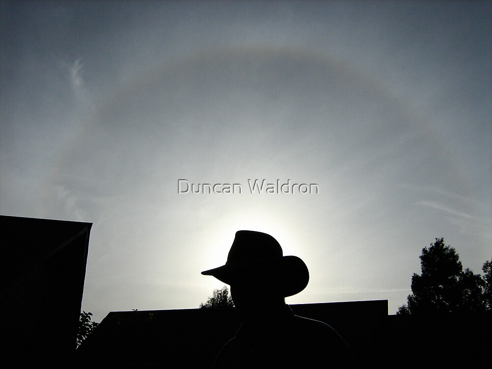 Hat & halo by Duncan Waldron