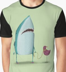 Shark and friend Graphic T-Shirt