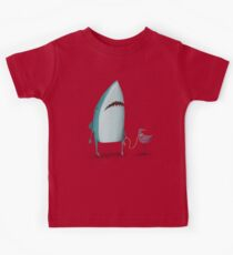 Shark and friend Kids Tee