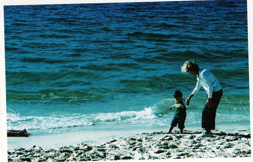 mum & zach by Talya Chalef