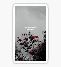 Summertime sadness - Lana del rey Sticker