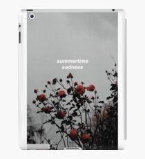 Summertime sadness - Lana del rey iPad Case/Skin