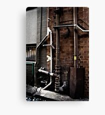 Pipes Canvas Print