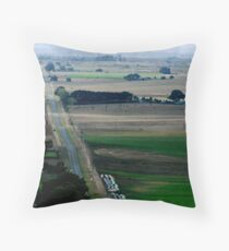 View from Red Rock Throw Pillow