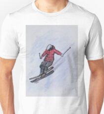 Snow Ski Fun Unisex T-Shirt