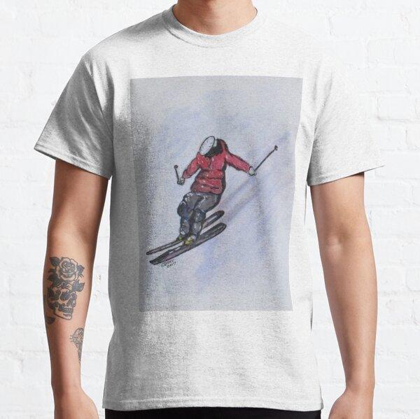 Snow Ski Fun Classic T-Shirt