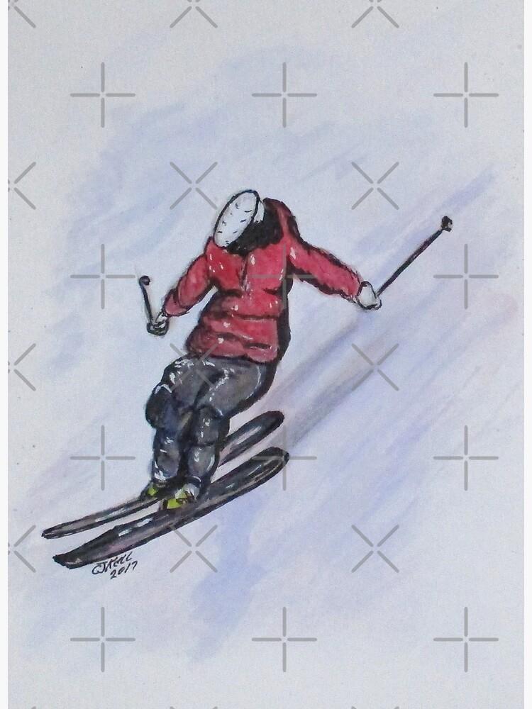 Snow Ski Fun by cjkell