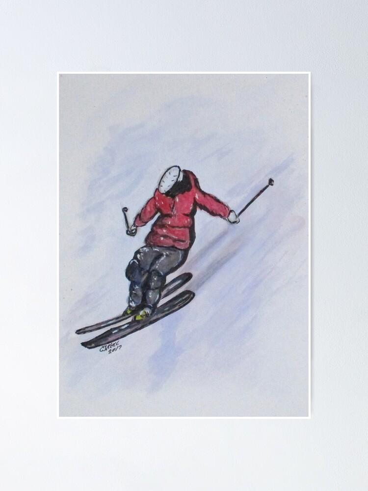 Alternate view of Snow Ski Fun Poster