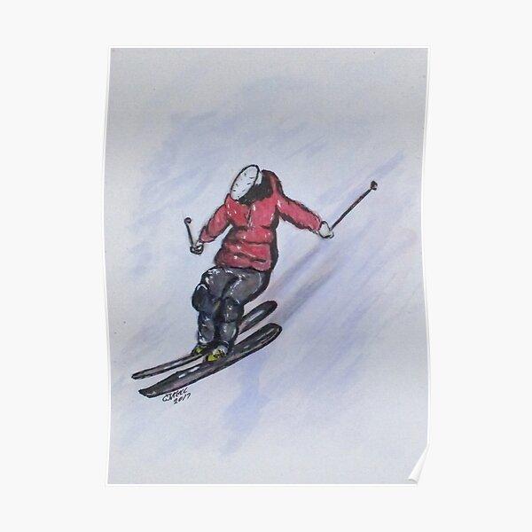 Snow Ski Fun Poster