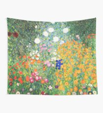Tela decorativa Jardín de flores de Gustav Klimt
