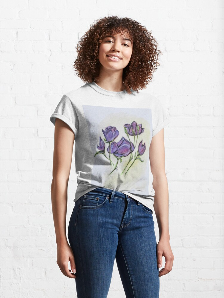 Alternate view of Water Color Pencil Exercise Classic T-Shirt