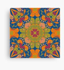 Abstract ethnic ornament Canvas Print