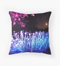 Moonlit Botanics Throw Pillow