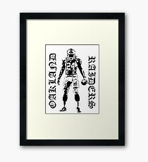 Marshawn Lynch Oakland Raiders Framed Print