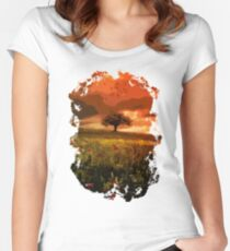Into the fields Women's Fitted Scoop T-Shirt