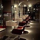 night at the barber by andreasphoto