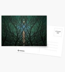 Die Nacht umarmen Postkarten