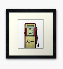 Classic Gas Pump Framed Print