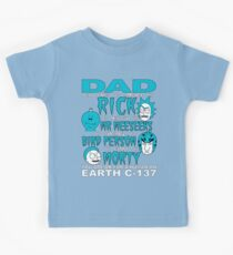 Rick And Morty Fathers Day Dad You Are Kids Clothes