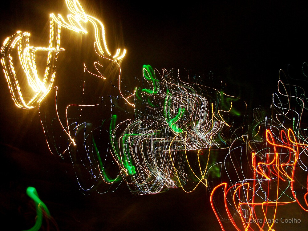 Drawing with light by Laura Jane Coelho
