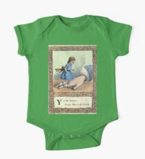 A Treasury of pleasure books for young people 1856 027 Alphabet One Piece - Short Sleeve