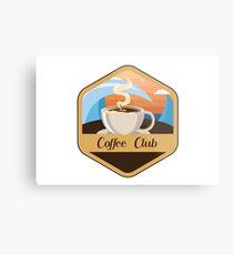 Coffee Club Metal Print
