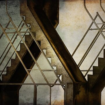 stairs & steel by amancuso