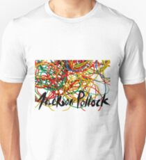 jackson pollock rubberband Unisex T-Shirt