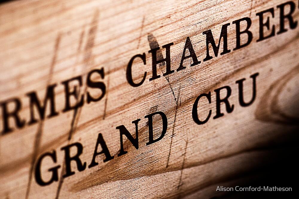 Grand Cru by Alison Cornford-Matheson
