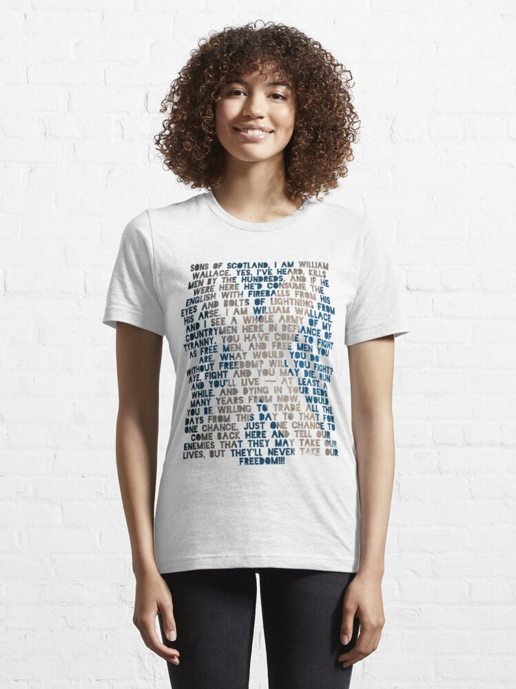 Alternate view of Braveheart Essential T-Shirt