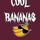 cool bananas t-shirt by ralphyboy