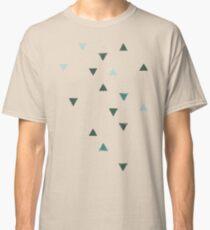 DOWN UP / olive green / seaweed / turquoise / aqua mint Classic T-Shirt