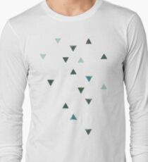 DOWN UP / olive green / seaweed / turquoise / aqua mint T-Shirt