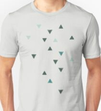 DOWN UP / olive green / seaweed / turquoise / aqua mint Unisex T-Shirt