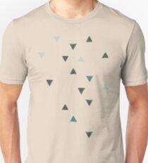 DOWN UP / olive green / seaweed / turquoise / aqua mint T-Shirt