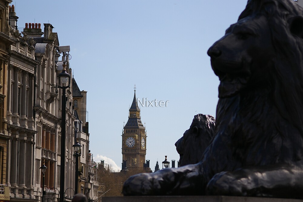 Lions of Trafalgar by Nixter
