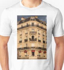 Parisian Building Facades - 4 © Unisex T-Shirt