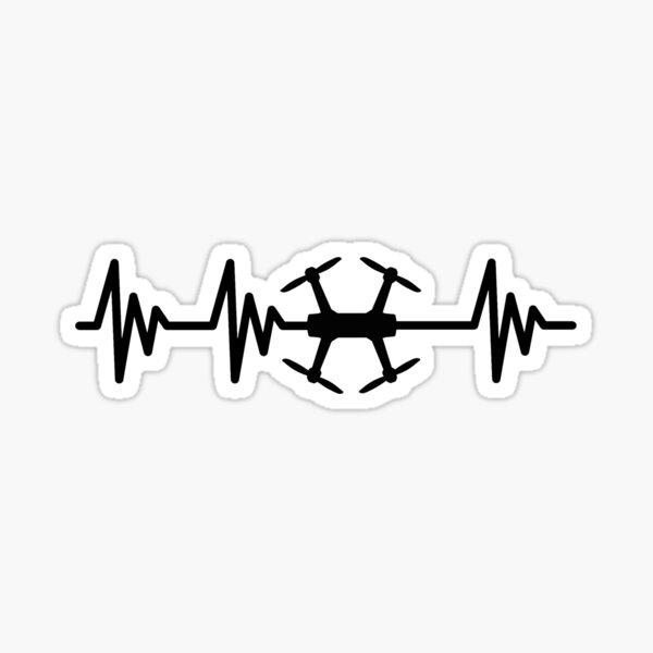 FPV Heartbeat Sticker