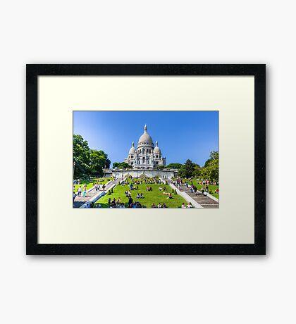 Sacre Coeur, Paris 3 Framed Print