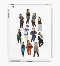 Every Clara Outfit Ever | S9 iPad Case/Skin