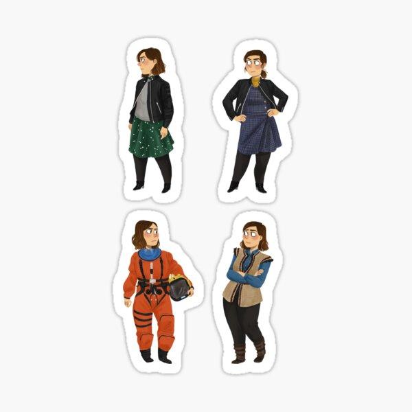 Every Clara Outfit Ever #10 Sticker