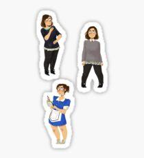 Every Clara Outfit Ever #12 Sticker