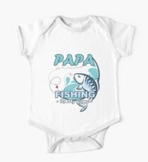 Papa Is My Name Fishing Is My Game Fishing Shirt, Fish Shirt One Piece - Short Sleeve