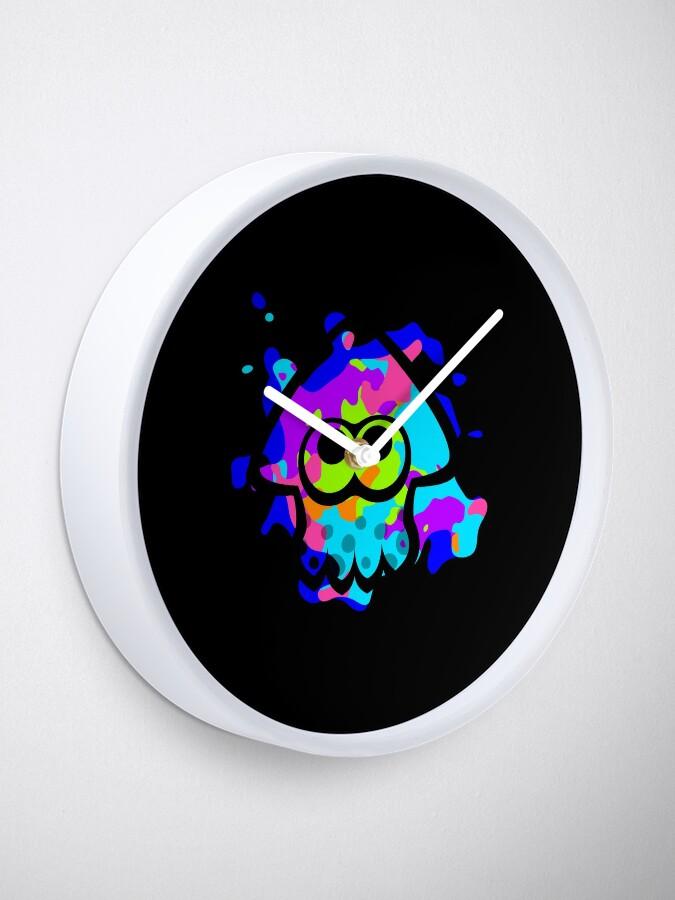 Alternative Ansicht von Splatoon Tintenfisch Uhr