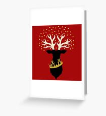 The King in Highgarden Greeting Card