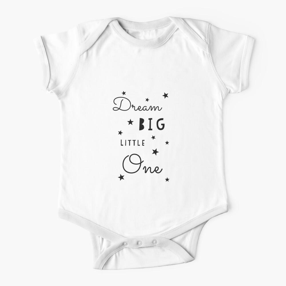 Dream Big Little One Baby Onesie Dream Catcher Bodysuit