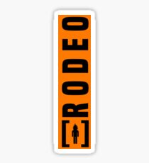 Rodeo La Flame Sticker